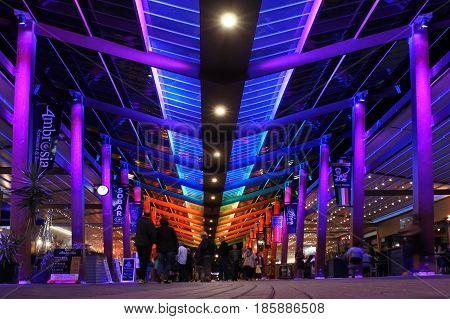 Rotorua Central Shopping Mall New Zealand