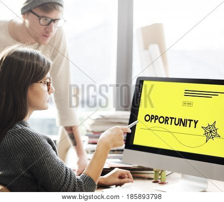 Opportunity Chance Success Business Skill