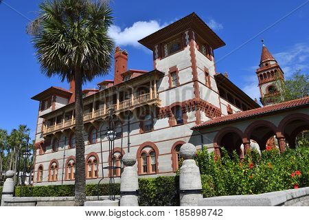 Historic Flagler College named after developer Henry Flagler St. Augustine, Florida