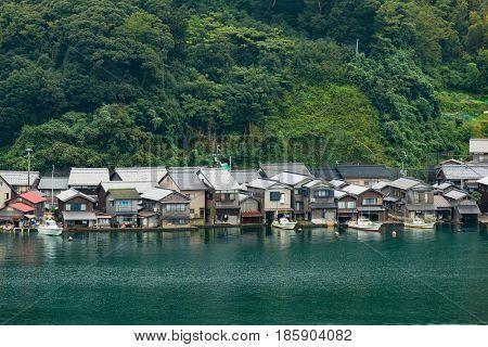 Ine Cho Village in Kyoto
