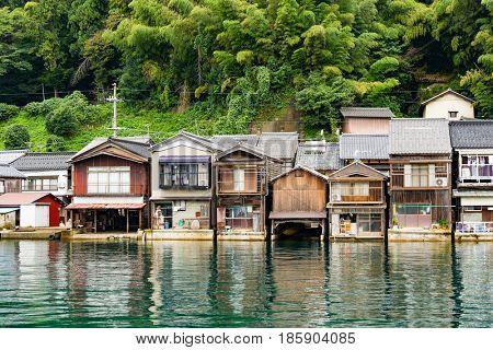 Seaside town in Ine cho of Kyoto