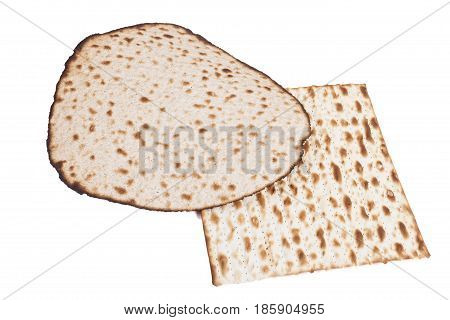 Round And Square Matzah