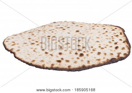 Round Matza Isolated