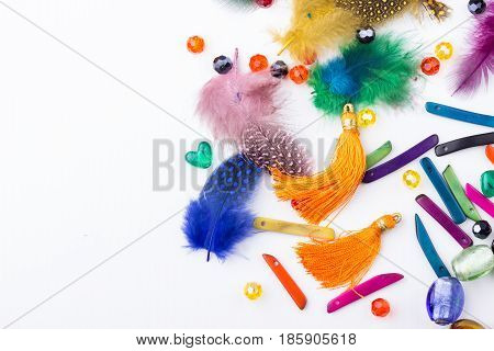 Bead And Feather Mix