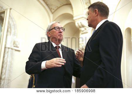 Klaus Iohannis - Jean-claude Juncker