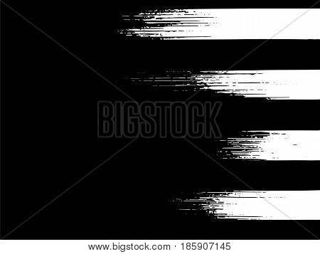 Grunge Vector Background Dusty Abstract Texture Paint Black White