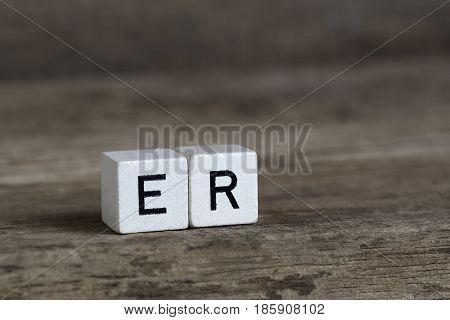 German Word He, Written In Cubes