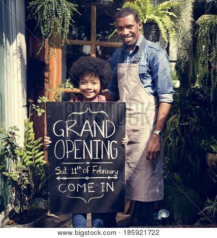 Open Merchandise Retail Shop Store