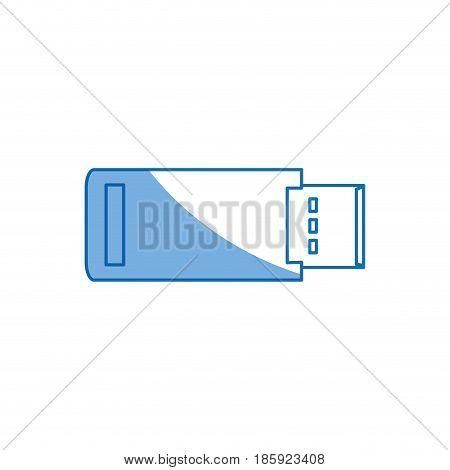 usb backup device technology office vector liistration