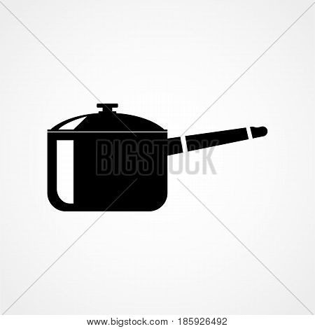 Cooking Pan Icons Flat Design Isolated On Background