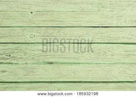 the wood texture old green planks background