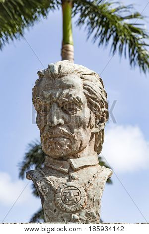Statue Of Inca Garcilaso De La Vega