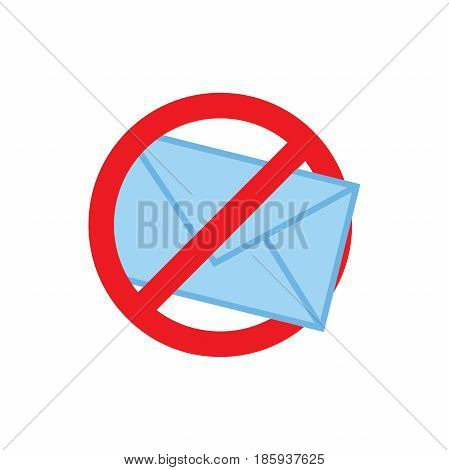 Privacy mode icon with security feature and email
