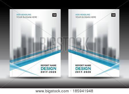 Blue Cover Design Vector  Photo (Free Trial) Bigstock