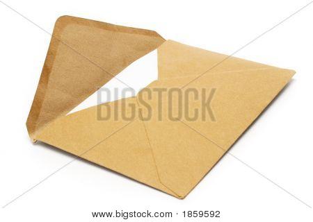 Brown Vintage Envelope