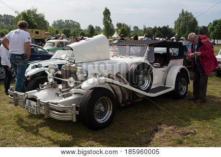 PAAREN IM GLIEN GERMANY - MAY 19: Car Excalibur Series II Phaeton
