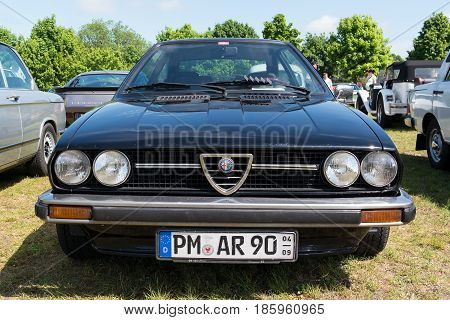 Paaren Im Glien, Germany - May 19: Car Alfa Romeo Alfasud Sprint,