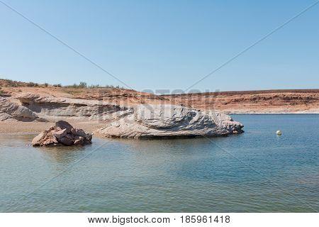 Navajo Sandstone Shore