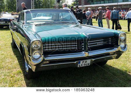 Paaren Im Glien, Germany - May 19: Full-size Car Pontiac Catalina (1963),