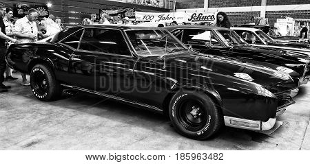 Paaren Im Glien, Germany - May 19: Personal Luxury Car Buick Riviera Gs, Second Generation, (black A