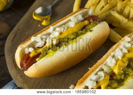 Homemade Deep Fried Hot Dogs
