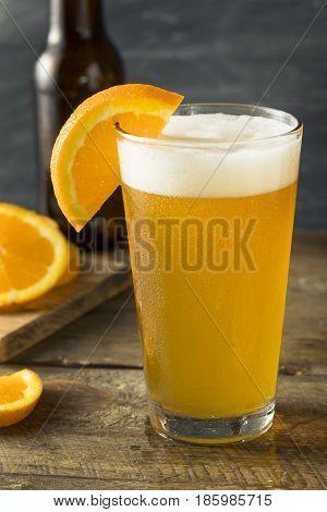 Organic Orange Citrus Craft Beer
