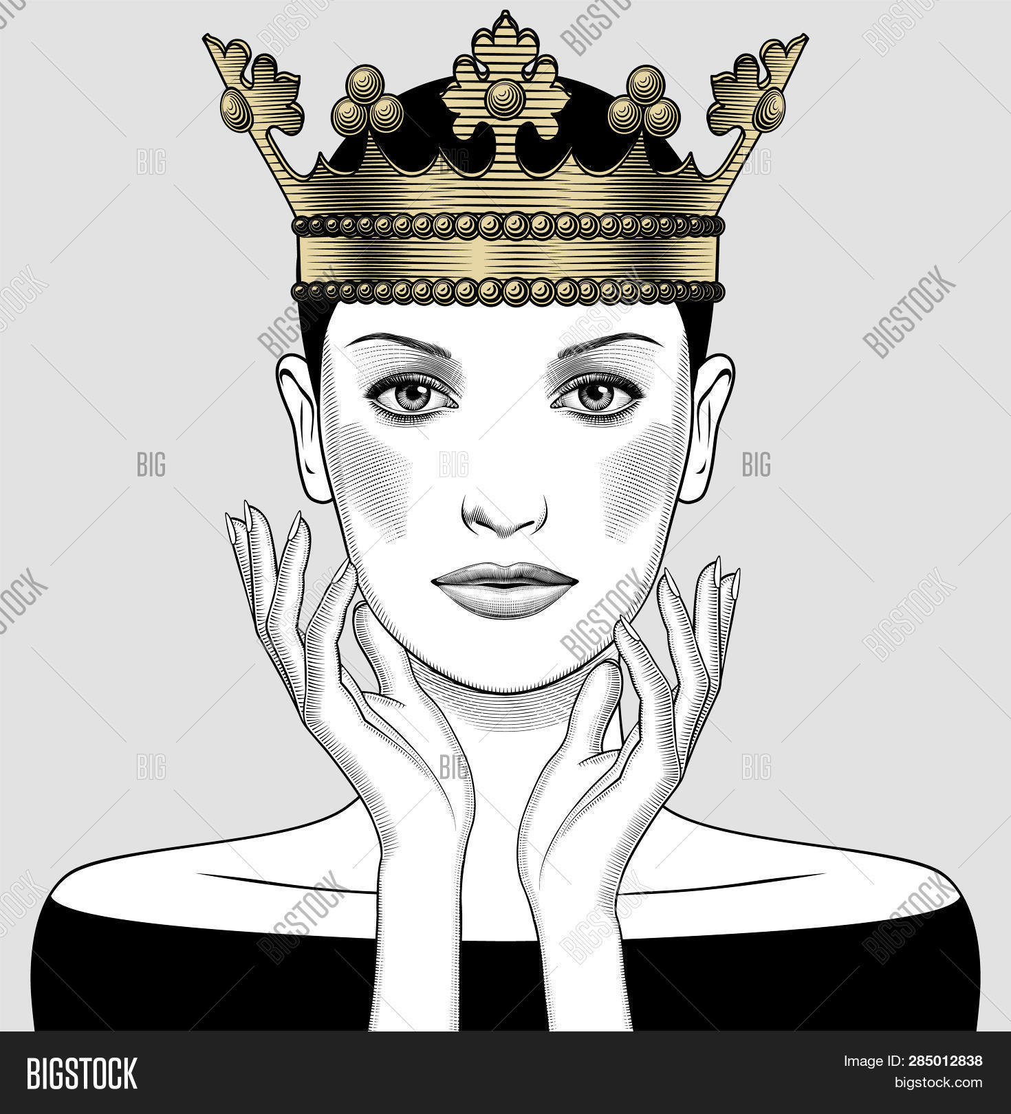 Woman Holding Above Image Photo Free Trial Bigstock Download 1,328 holding crown stock illustrations, vectors & clipart for free or amazingly low rates! woman holding above image photo free