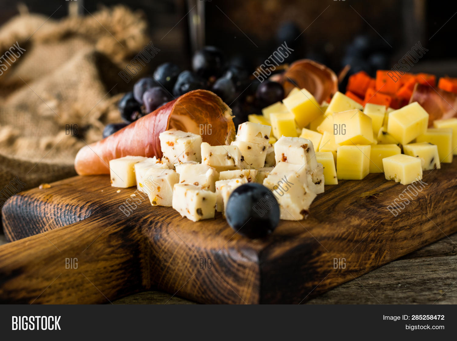 Assorted Cheeses On Image & Photo (Free Trial) | Bigstock