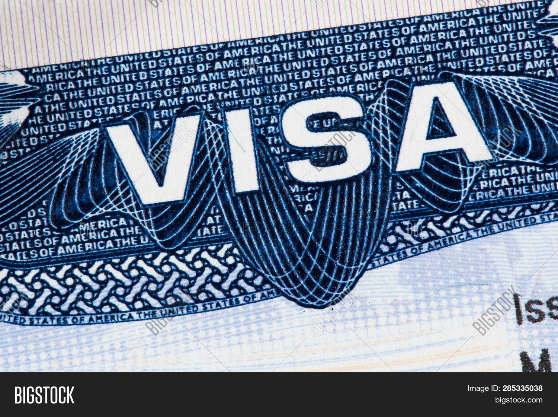 American Visa Passport Image & Photo (Free Trial) | Bigstock