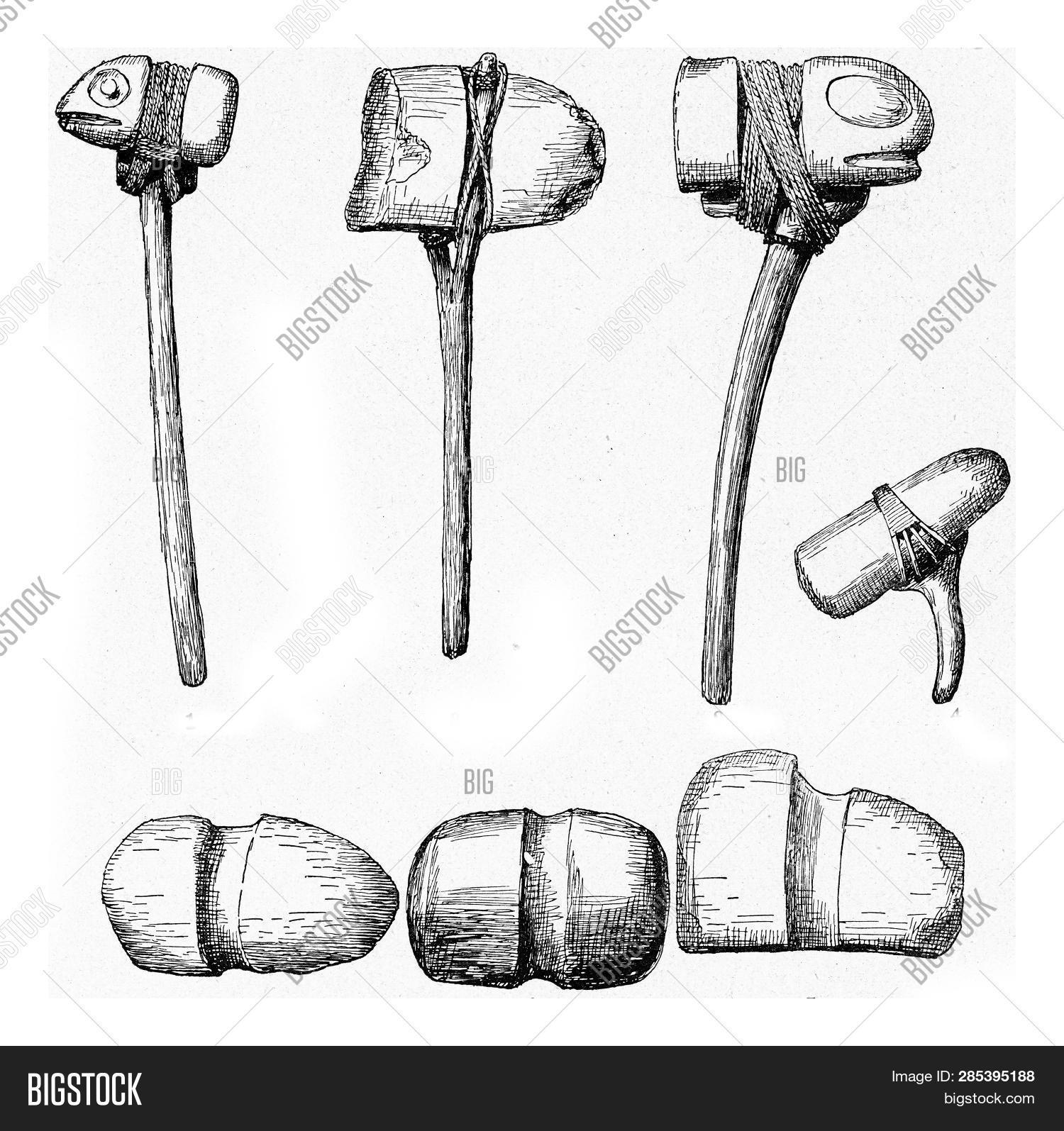 Stone Hammers Grooves Image & Photo (Free Trial) | Bigstock