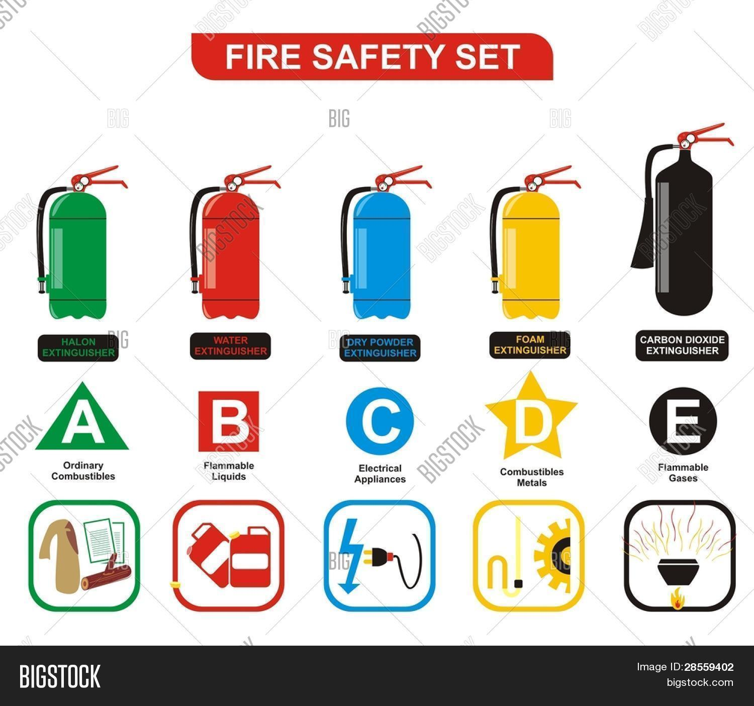 Vector Fire Safety Vector Photo Free Trial Bigstock