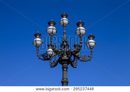 The Intricate Beauty Of The Lamp
