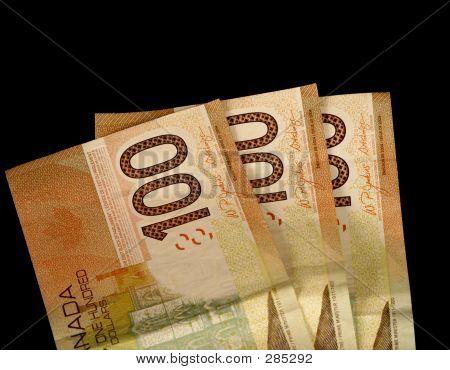 3 Hundred Dollar Bills