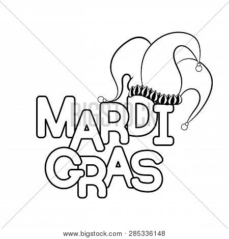 Mardi Gras Beads Coloring Pages | Woo! Jr. Kids Activities | 470x450