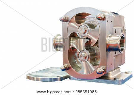Close Up High Technology And Quality Rotary Or Lobe Gear High Pressure Vacuum Pump For Control Const