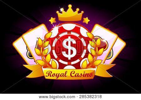 Casino Royale Banner Vector Photo Free Trial Bigstock