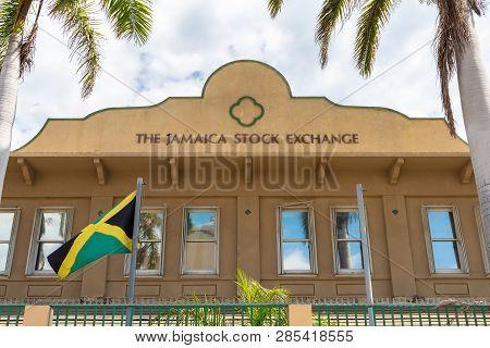 Kingston/saint Andrew, Jamaica - February 05 2019: The Jamaica Stock Exchange (jse), The Principal S
