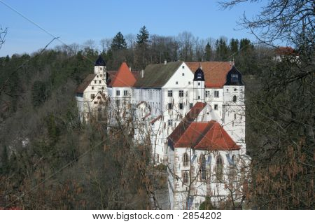 Castle Haigerloch In Germany