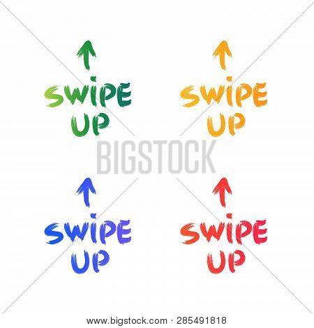 Swipe Up Symbol