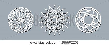 Mandala Layout Template Laser Cutting Ethnic Round Pattern Ornament Template Layout Mandala Lace Doi