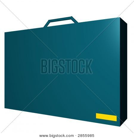 Document Briefcase Object For Diagram And Presentation