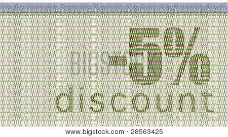 Discount Coupon -5%