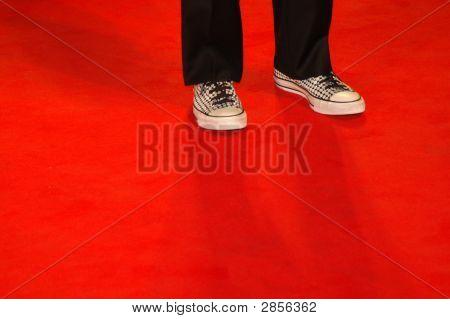 Man On Red Carpet