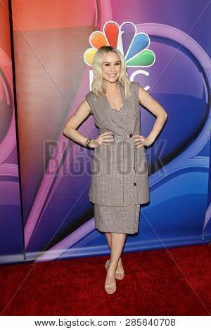 LOS ANGELES - FEB 20:  Becca Tobin at the NBC's Los Angeles Mid-Season Press Junket at the NBC Universal Lot on February 20, 2019 in Universal City, CA