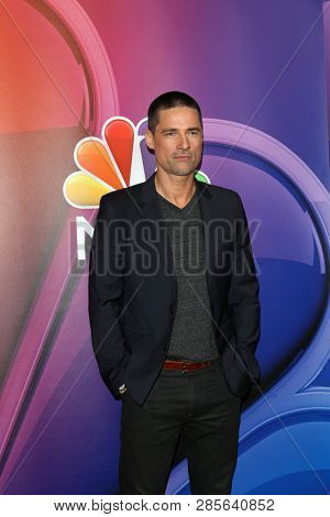 LOS ANGELES - FEB 20:  Warren Christie at the NBC's Los Angeles Mid-Season Press Junket at the NBC Universal Lot on February 20, 2019 in Universal City, CA