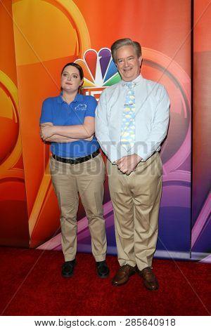 LOS ANGELES - FEB 20:  Lauren Ash, Mark McKinney at the NBC's Los Angeles Mid-Season Press Junket at the NBC Universal Lot on February 20, 2019 in Universal City, CA