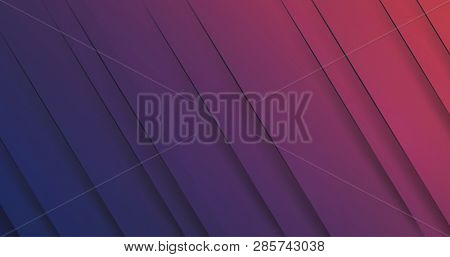 Abstract Dark Purple Striped Background Design Template