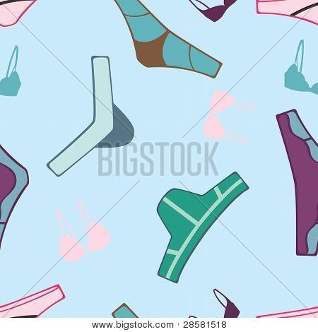 underwear seamless pattern
