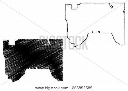 Saint Paul City (united States Cities, United States Of America, Usa City) Map Vector Illustration,