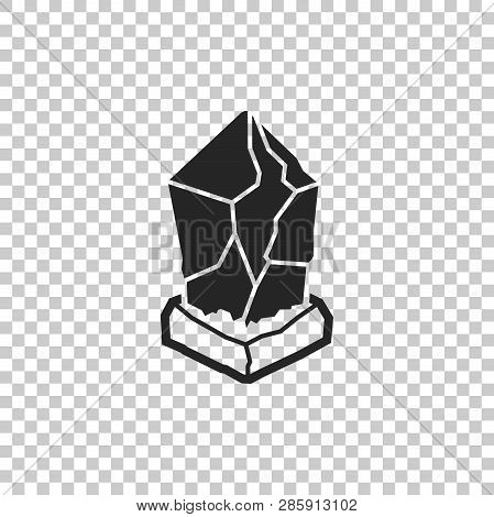 Cryptocurrency Coin Lisk Lsk Icon Isolated On Transparent Background. Physical Bit Coin. Digital Cur